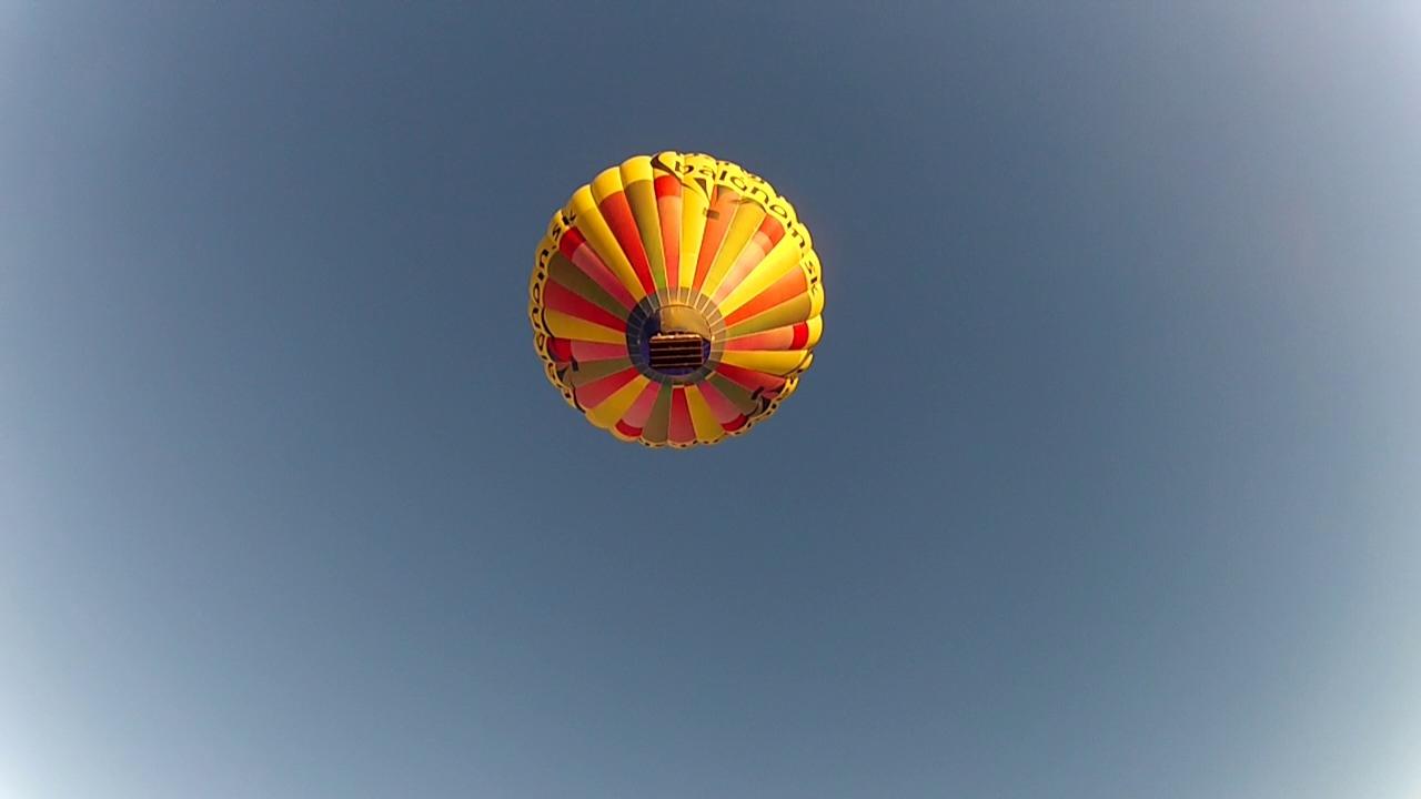 Zoskok z balóna
