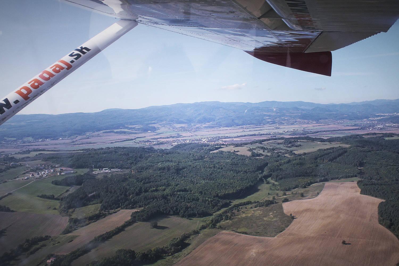 Výhliadkový let lietadlom