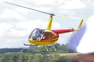 Helikoptéra Utair Robinson R44
